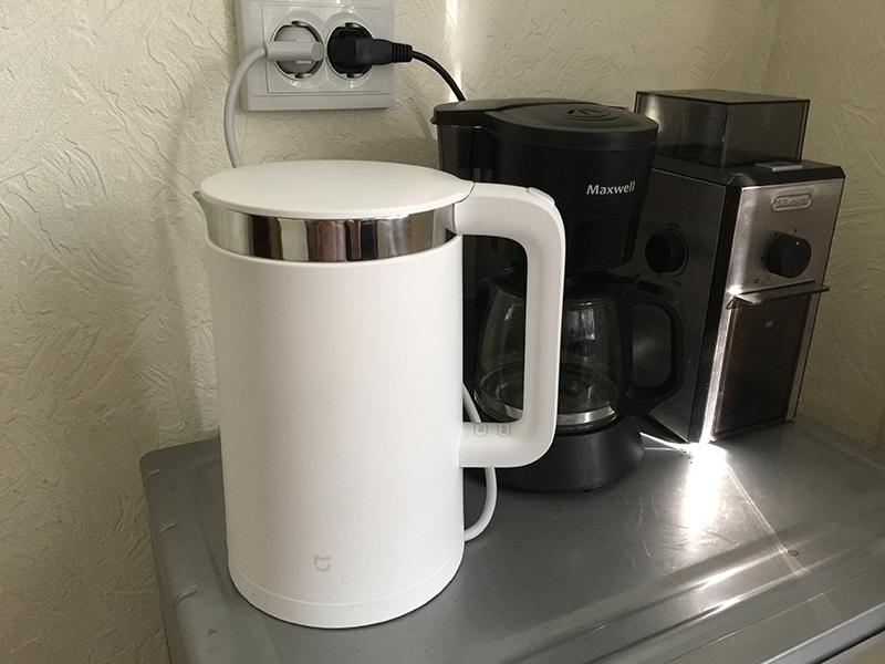 smart Xiaomi kettle