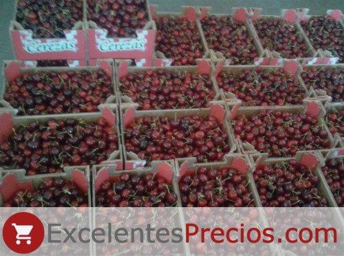 Cereza Celeste, cajas de 2kg, venta de cerezas