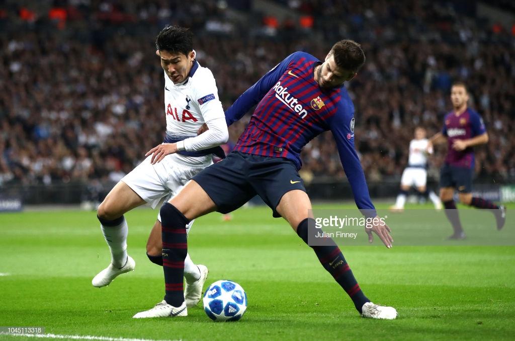 صور مباراة : توتنهام - برشلونة 2-4 ( 03-10-2018 )  Y
