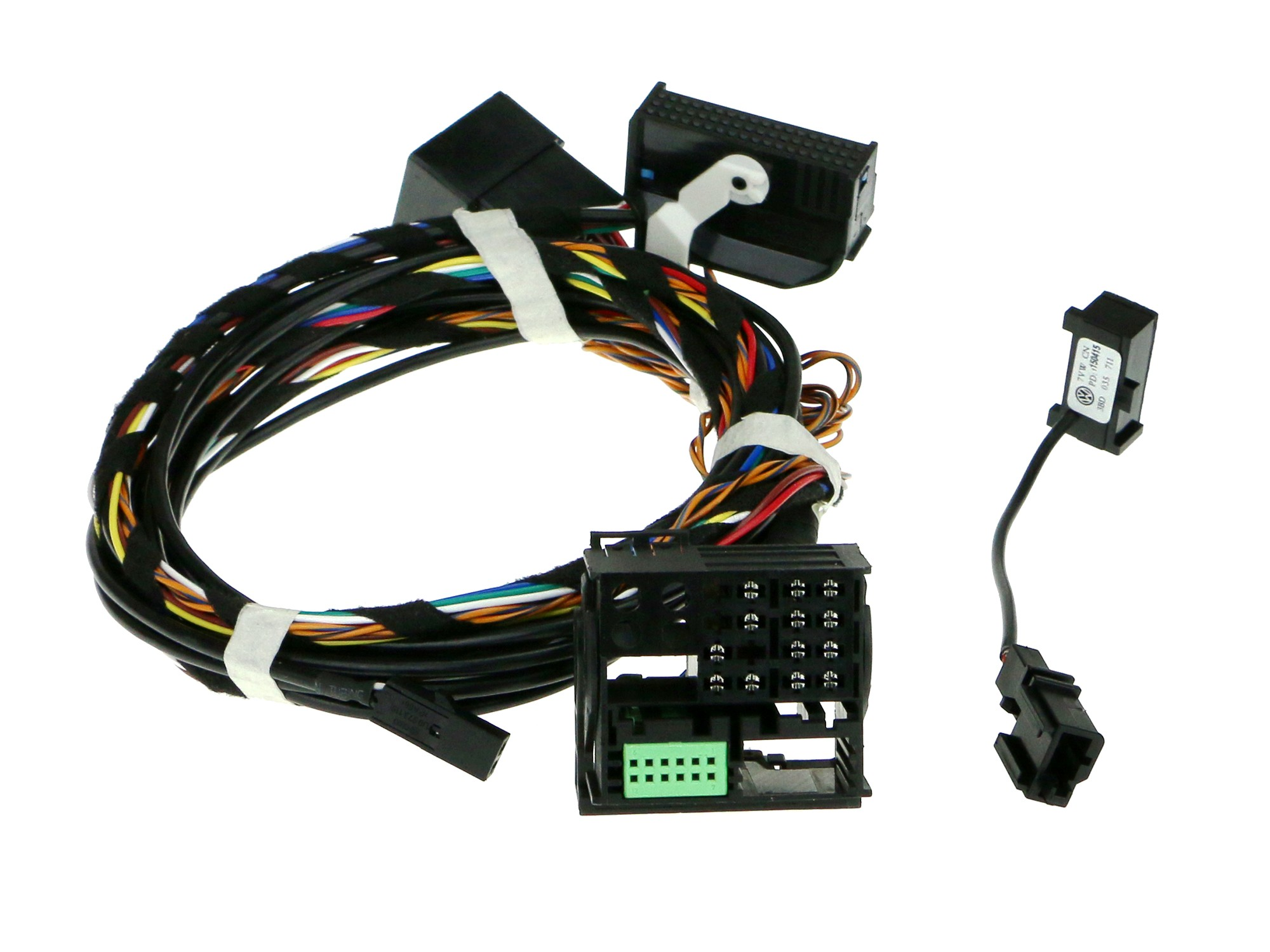 vw bluetooth module wiring harness adapter upgrade rcd510 rns510 rh ebay com VW Jetta Bluetooth Bluetooth Phone