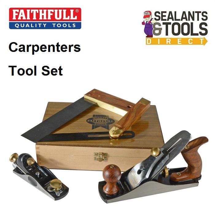 Faithfull 4 Piece Carpenters set