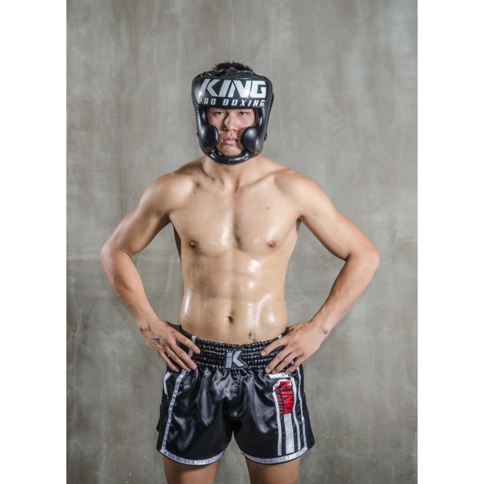Оригинальный спарринговый  шлем King PRO BOXING Head guard  ( Королевство Таиланд )