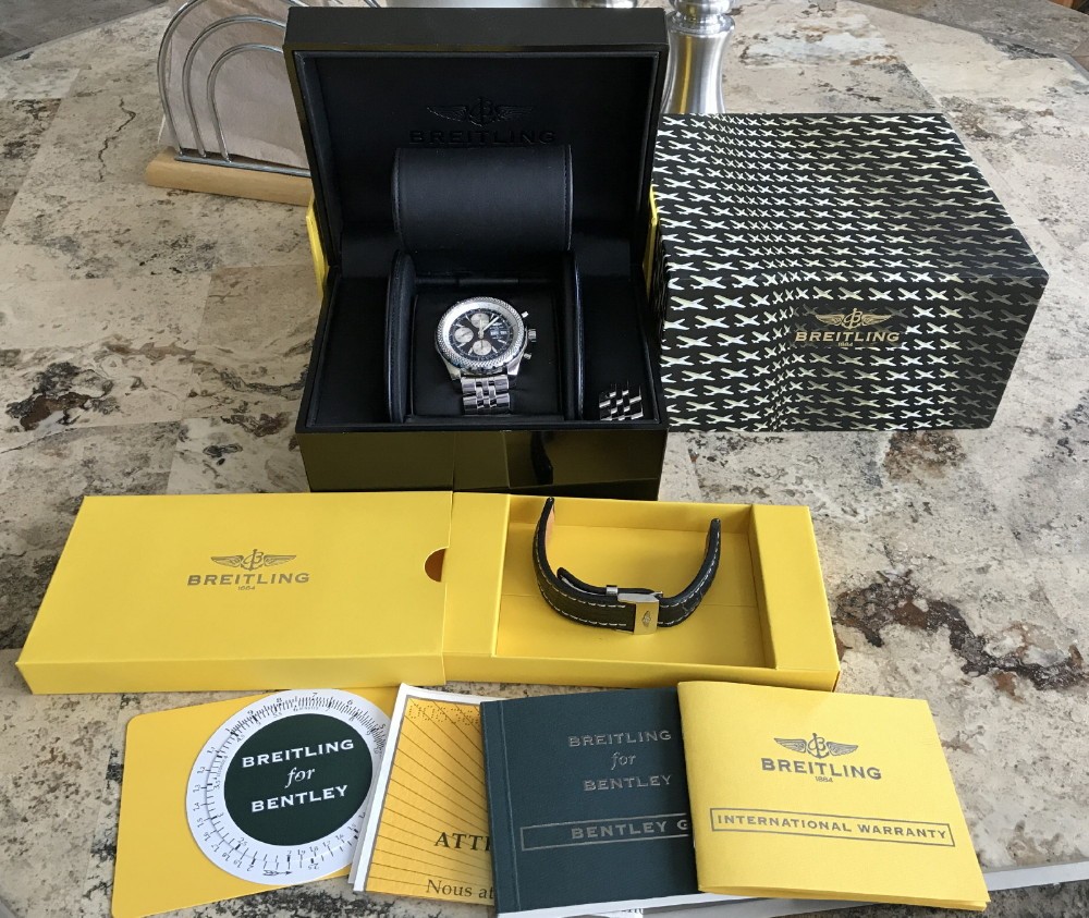 WatchNet: Trading Post: Breitling Bentley GT 44mm With