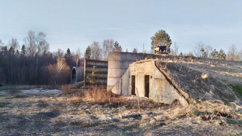 Заброшенный зенитно-ракетный комплекс