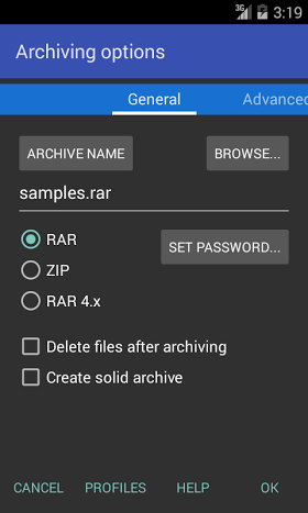 RAR for Android Premium 5.60 build 48 Final APK