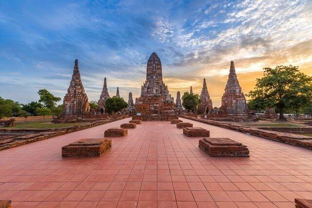 Ayutthaya Temple Complex (Ayutthaya, Thailand)