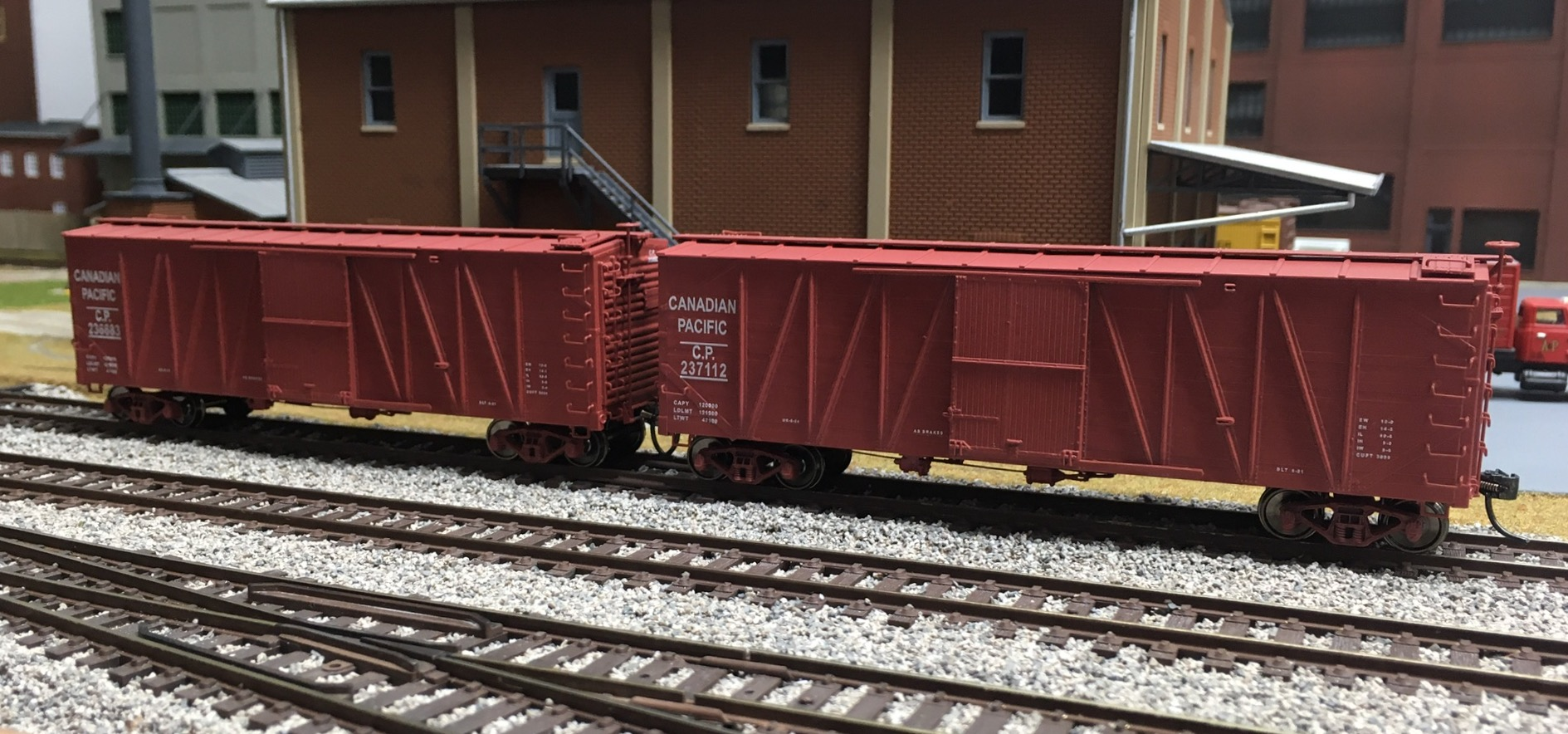 Tichy Train Group Low Side Gondola Decals Kit HO Scale