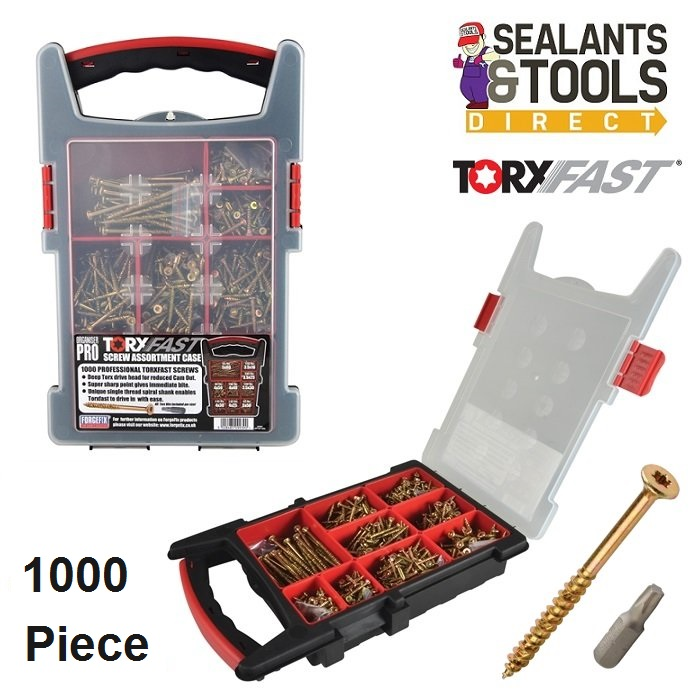 Torx Screw 1000pc Organiser Set
