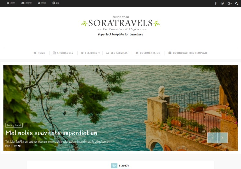 Sora_Travels_Blogger_Template