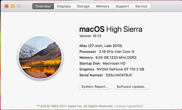 Guide] Sierra / HighSierra / Mojave / Catalina on Serie 5, 6