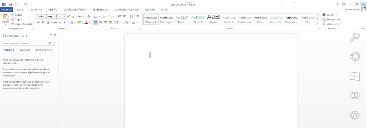 Microsoft Office 2013 activado.