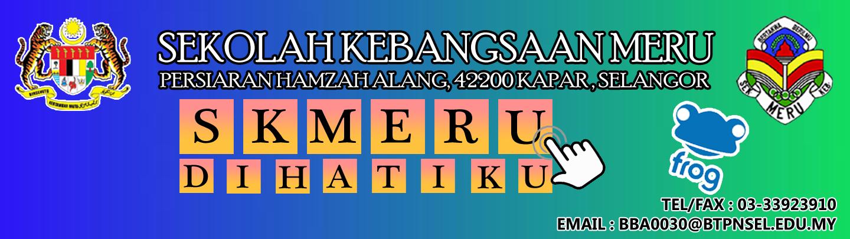 Portal Rasmi SK Meru Jalan Tap, Klang