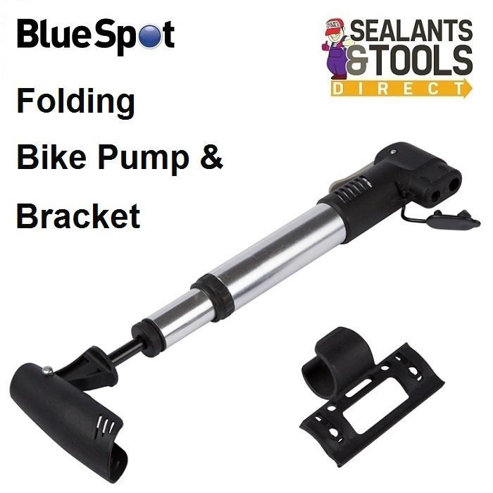 Blue Spot Tyre Bicycle Cycle Bike Pump Presta Schrader 92002