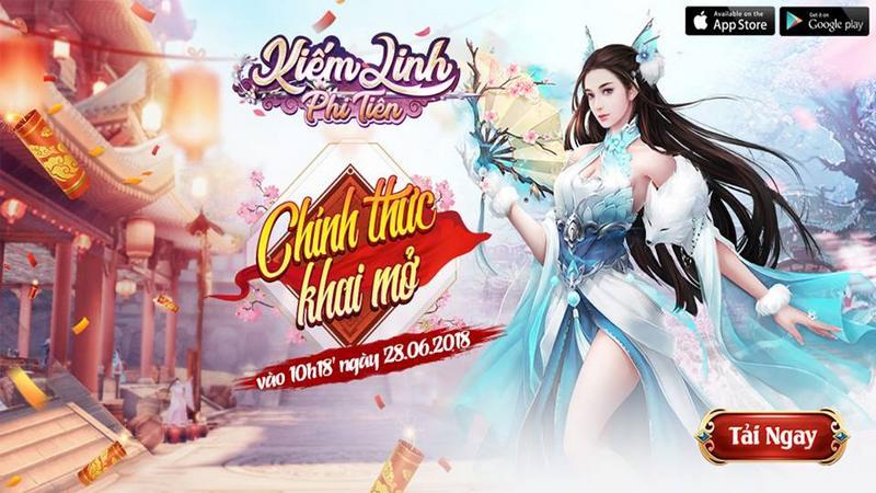 Giftcode - Kiếm Linh Phi Tiên