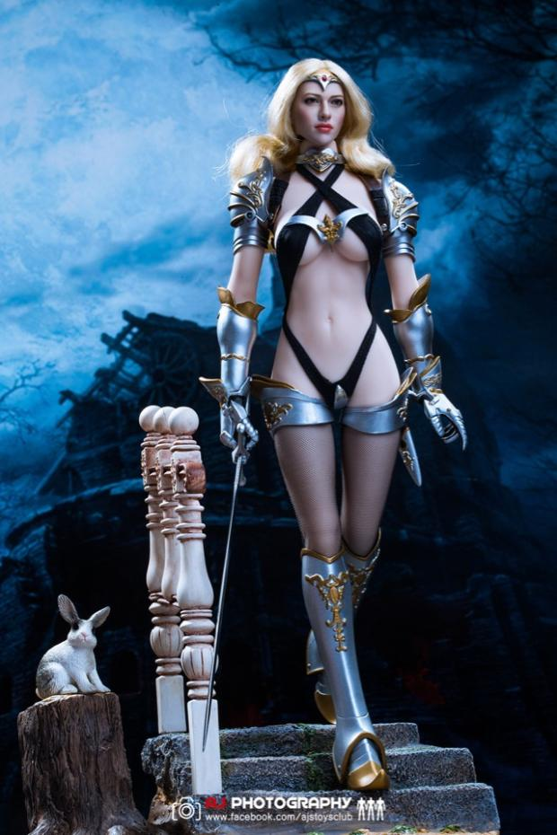 """1/6 Scale Lucifer Clothes Set For Fiona Valkyvia Chronicles LXF1702 12"""" figure 0"""