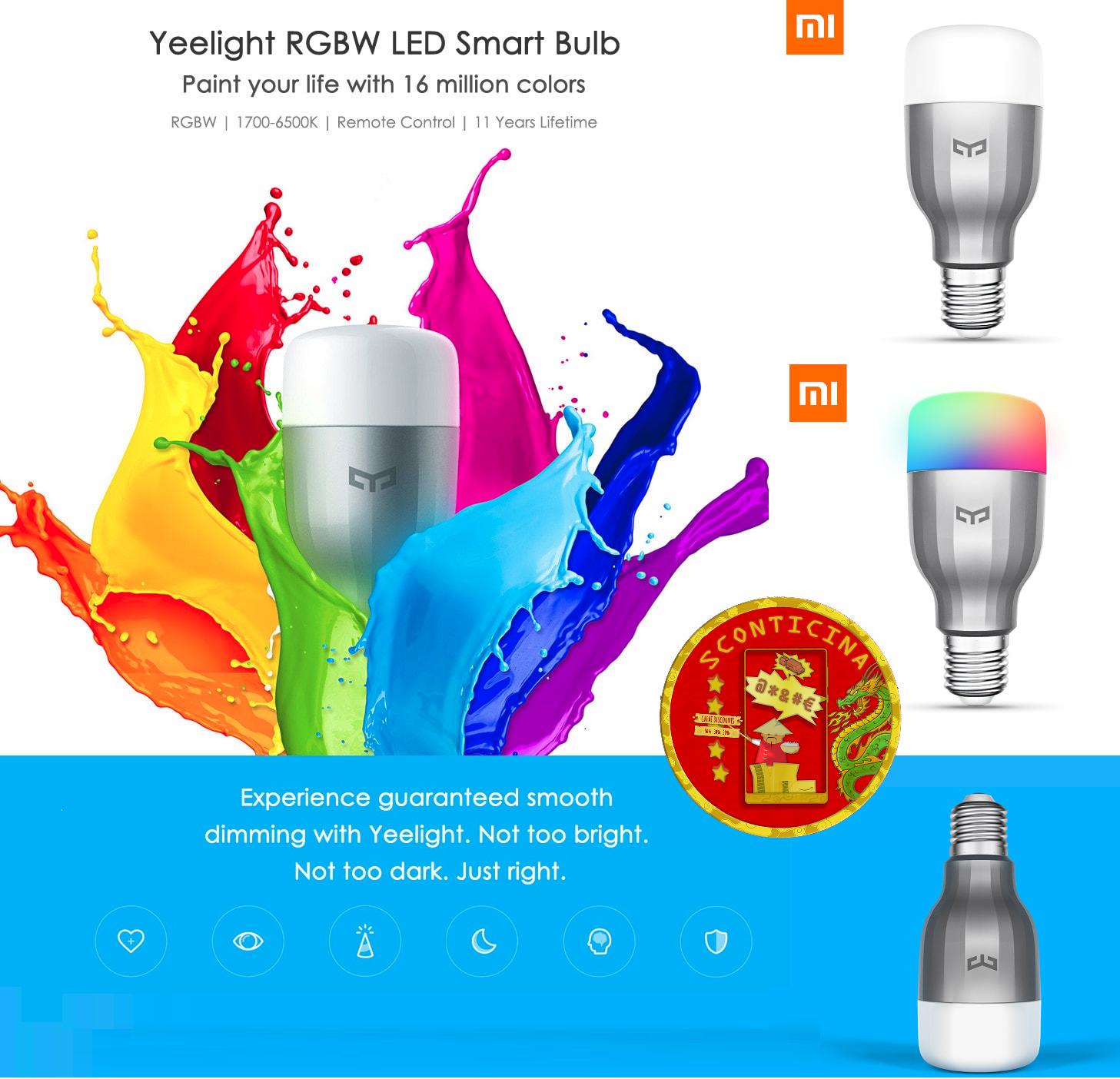 Xiaomi Yeelight Bulb RGBW