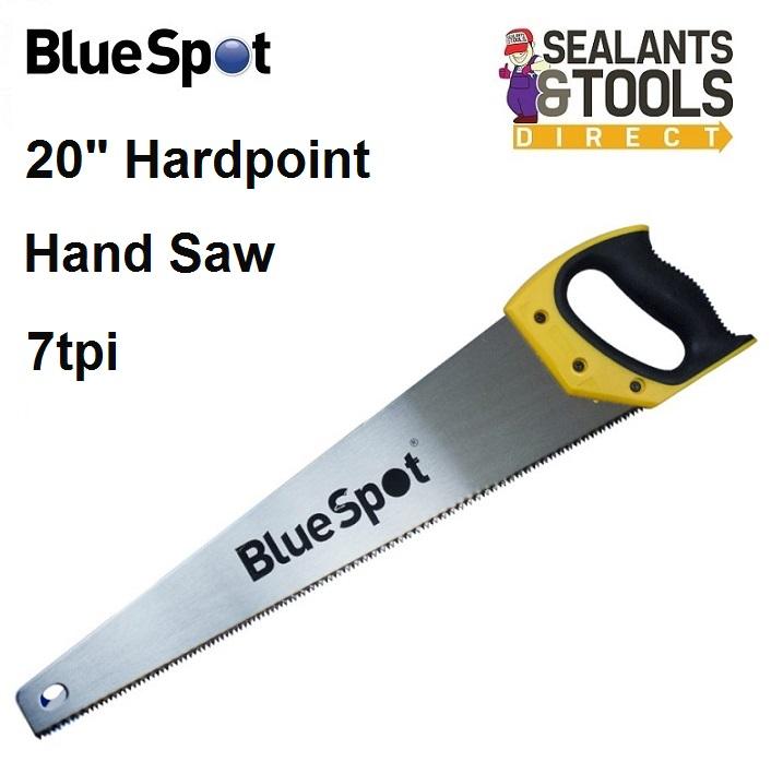 Blue Spot Hardpoint Hand Saw 20 inch 7-Tpi 27159