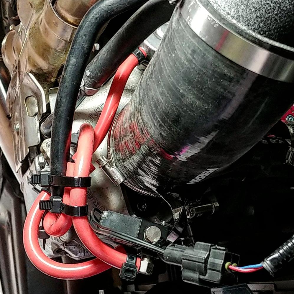 Perrin turbo inlet w/nozzle, gs ebcs, boomba bpv, Cobb big