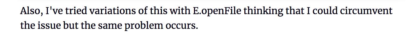 E.openFile