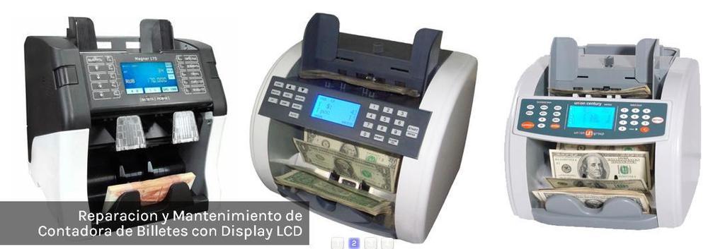 Reparacion y mantenimiento de contadoras de billetes con display lcd zpstsnwppfj