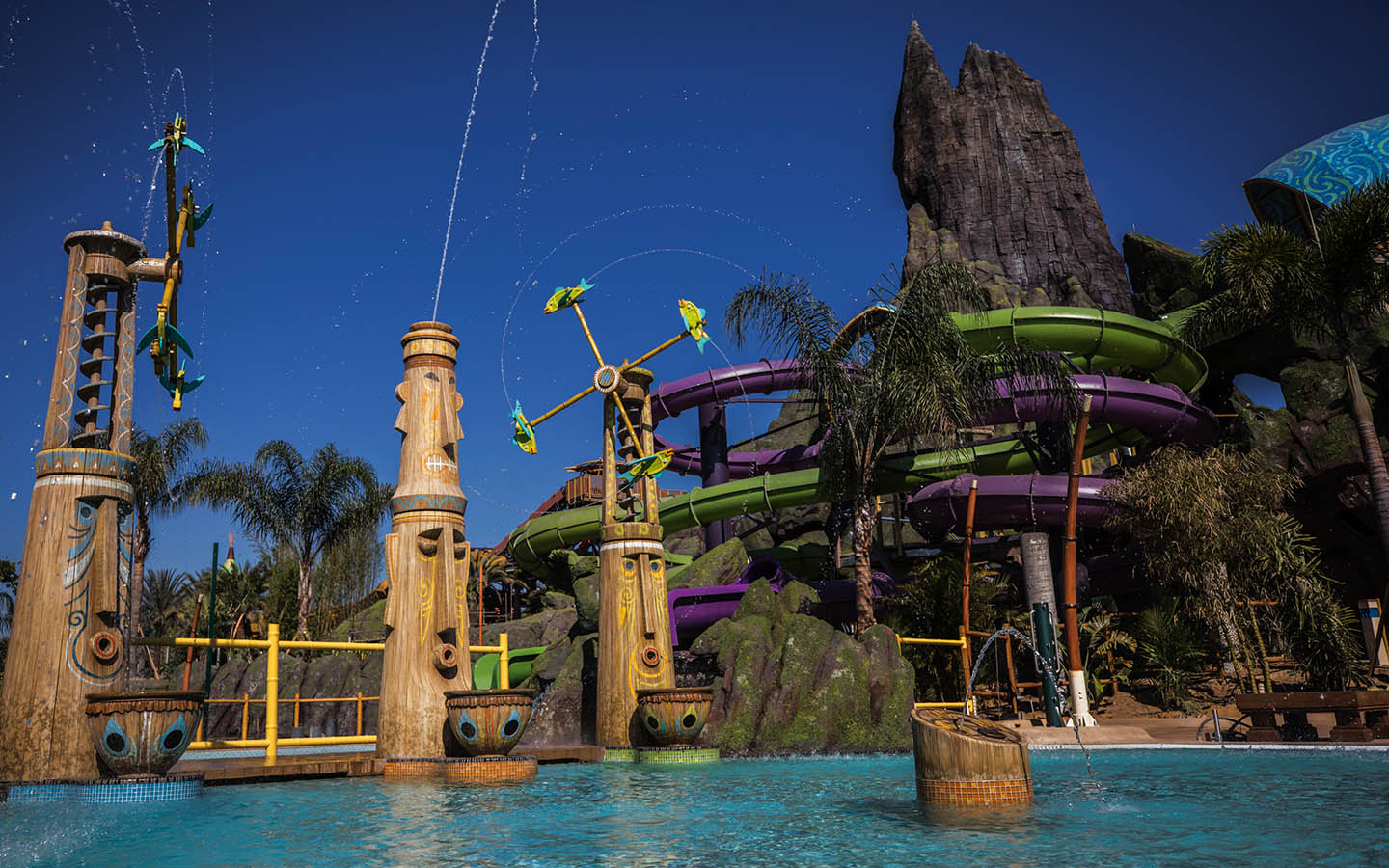 Volcano Bay special effects