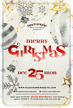 Christmas Vintage Flyer