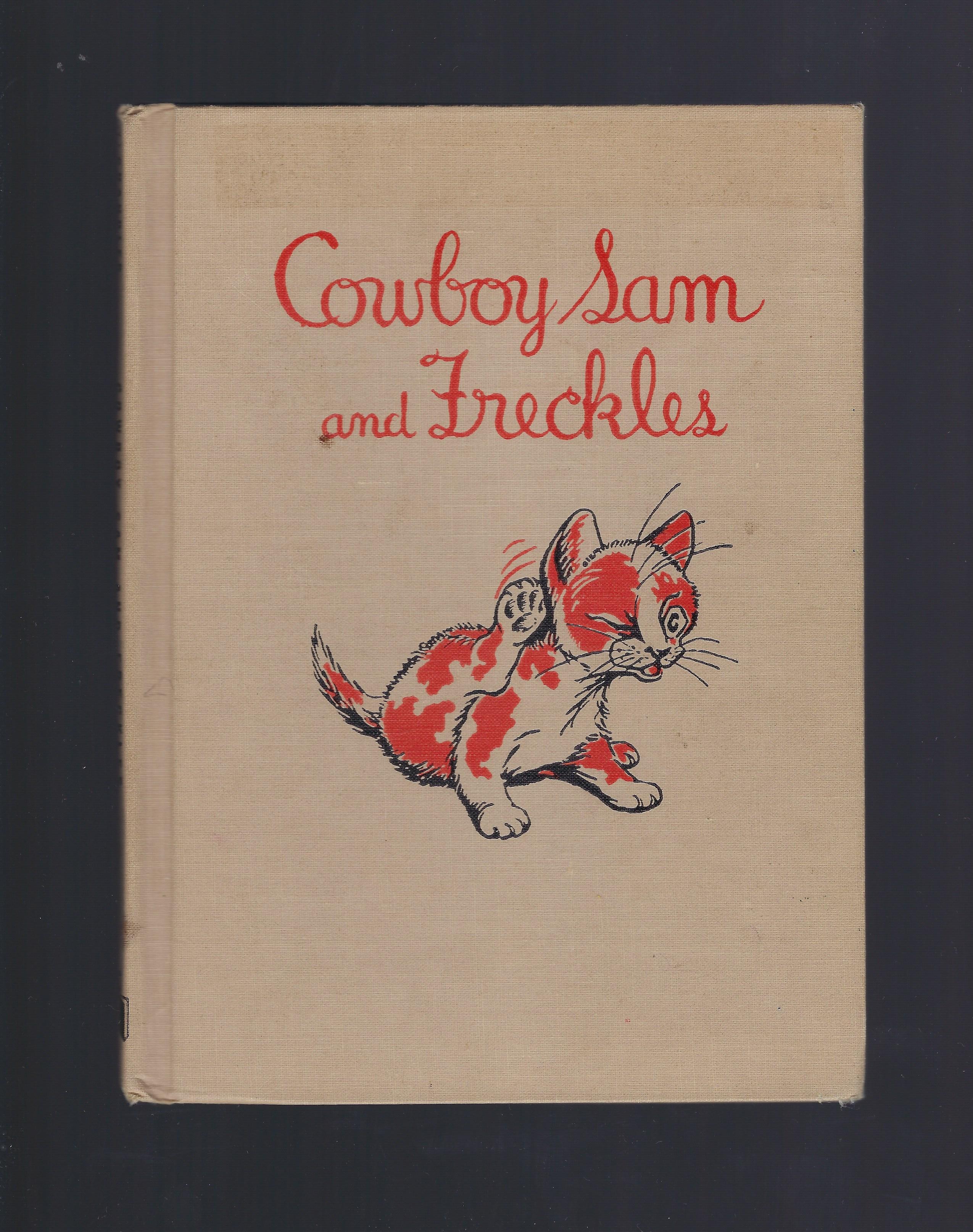 Cowboy Sam and Freckles 1960, Edna Walker Chandler; Jack Merryweather [Illustrator]