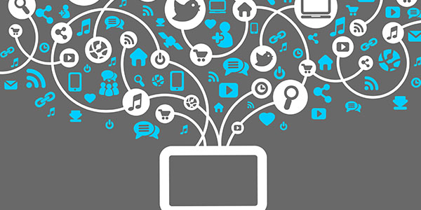 variedad de logos de las distintas redes sociales