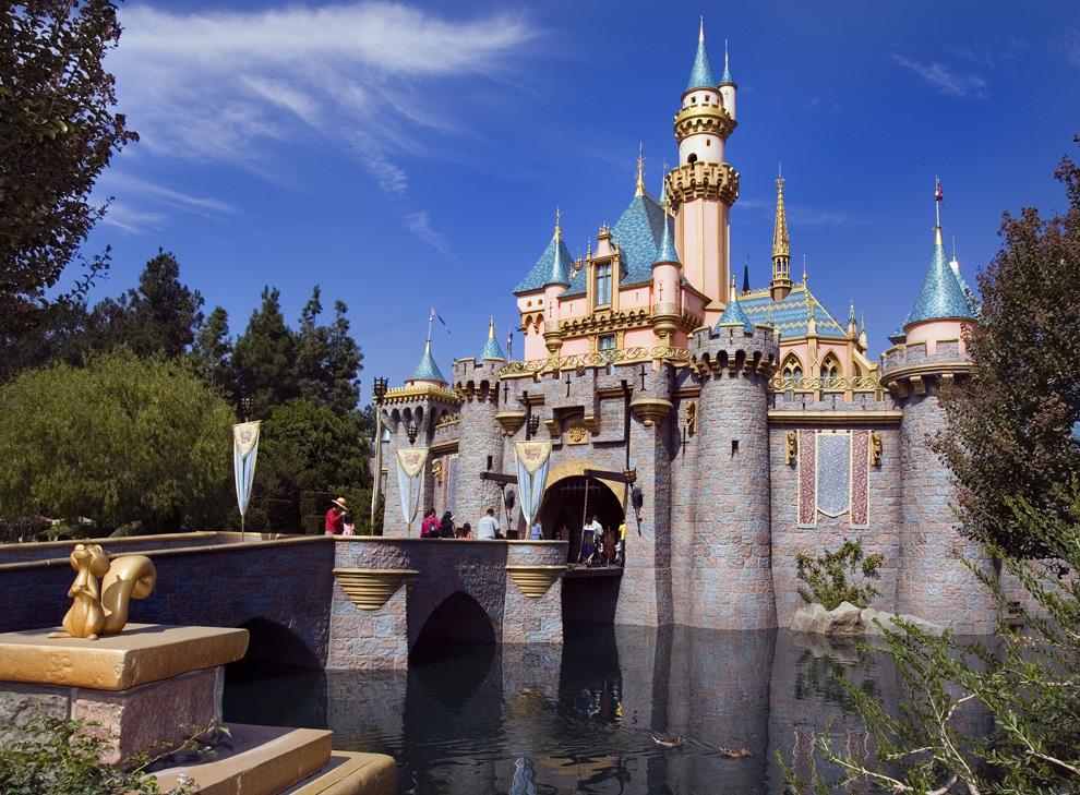 Sleeping Beauty Castle at Disneyland California