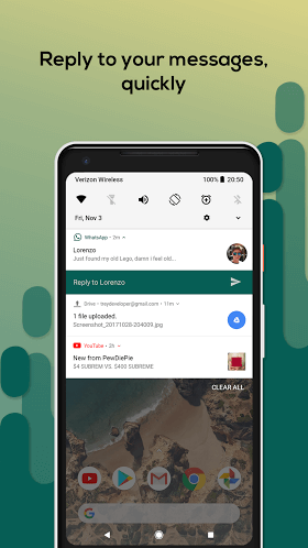 Material Notification Shade Pro 10.46 APK
