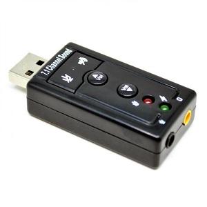 SOUND CARD USB 7.1