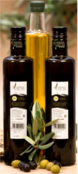 Bottle of PDO Alcarria oil, extra virgin olive oil 500ml, Castellana olive oil