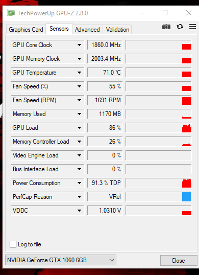 Suddenly my Nvidia 1060 is running 100% in task manager | Tom's