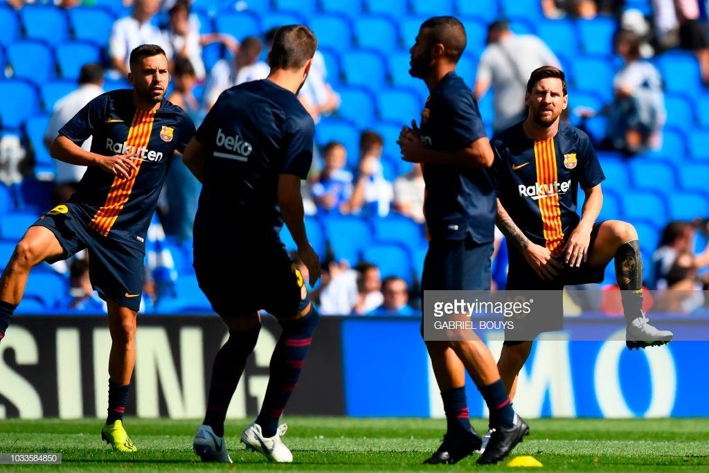 صور مباراة : ريال سوسيداد - برشلونة 1-2 ( 15-09-2018 ) K2
