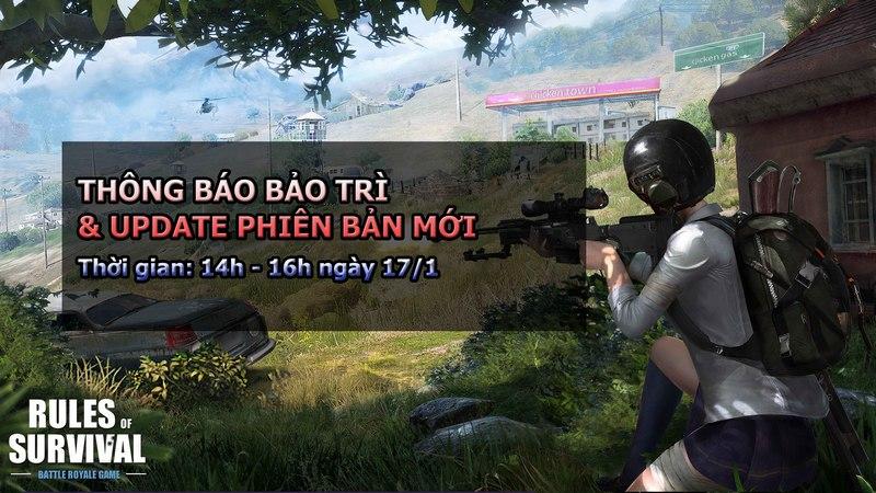 Liệu Rules of Survival có tiếng Việt trong bản cập nhật hôm nay?