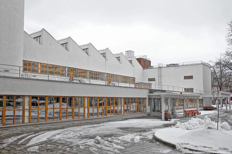 Общежитие текстильного института