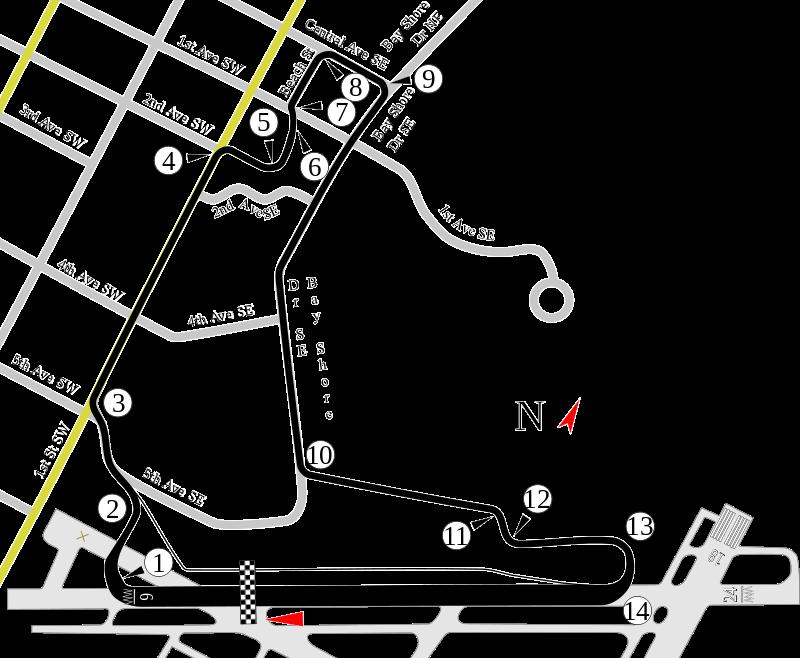 VRC Indycar 2018 - Round 3 - St. Petersburg