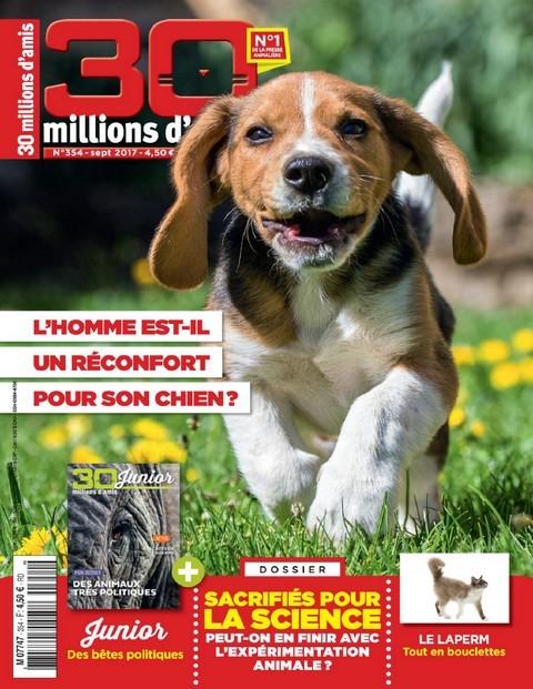 30 Millions d'Amis N°354 - Septembre 2017