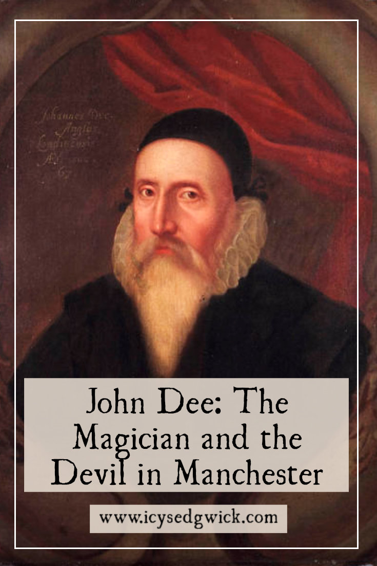 John Dee is a fascinating Elizabethan figure linked with the occult. But did this magician really conjure the devil while living in Manchester?