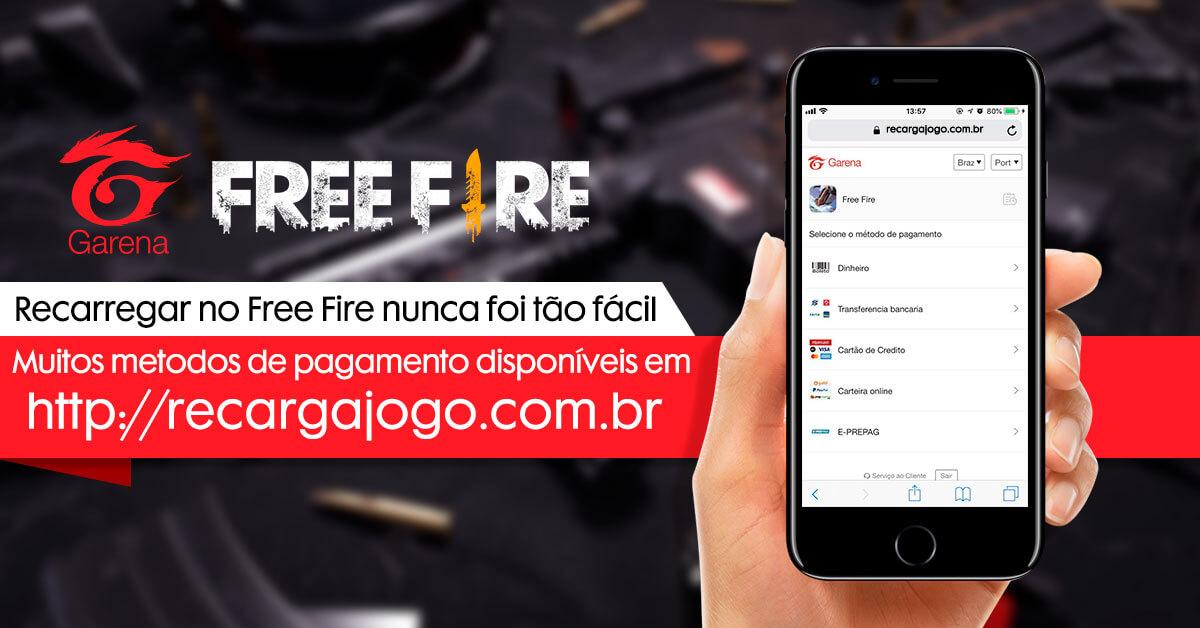 Free Fire - Centro de Recarga Free Fire