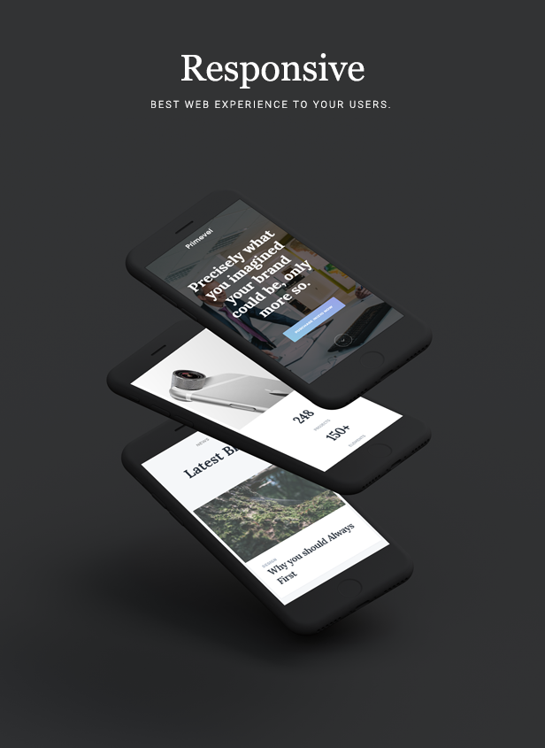 INIZIO - Responsive Template for Freelancers and Agencies - 2