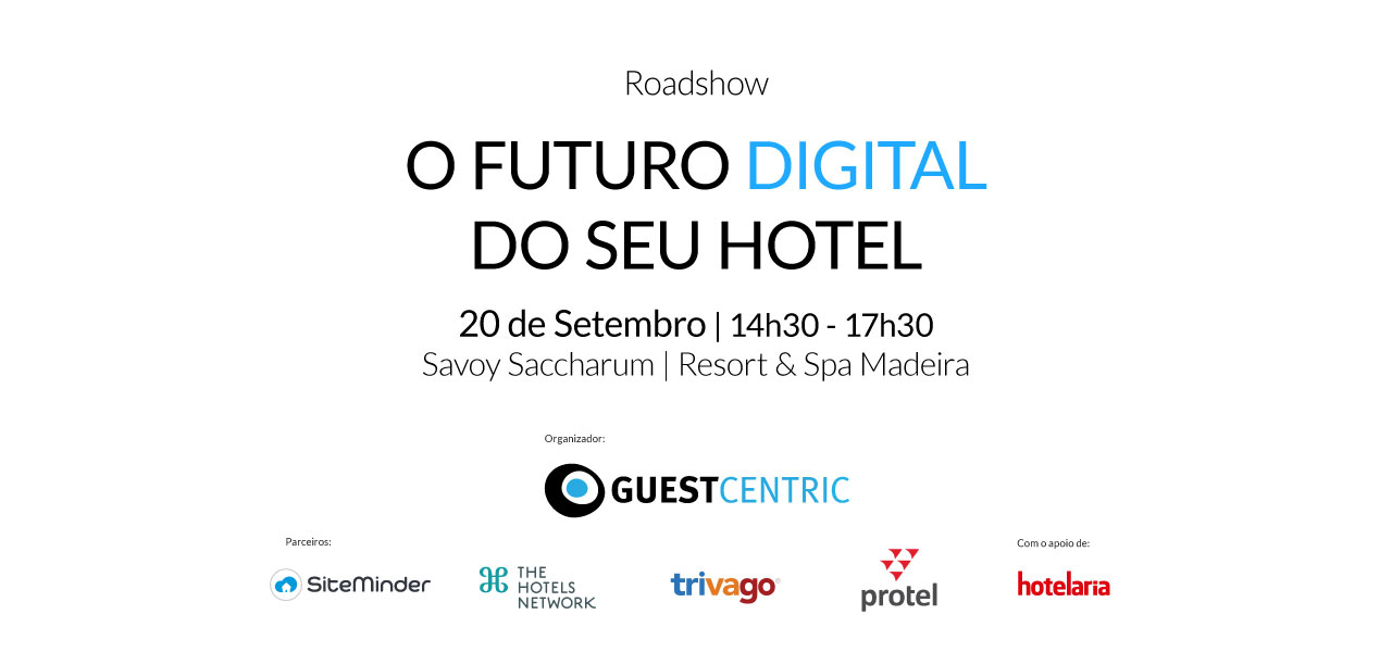 "Workshop ""O futuro digital do seu hotel"" - 10 de Maio 