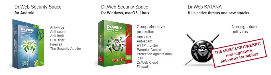 Front image Dr.web