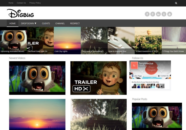 Digbug_Video_Responsive_Blogger_Template_3