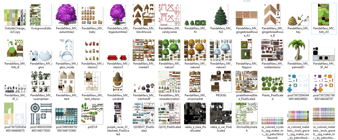 1350 Tilset varié (VX ACE et pour MV) Image15