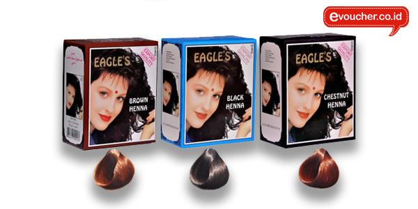 Eagle S Henna Cat Rambut Yang Terbuat Dari Bahan Herbal Dan Cocok