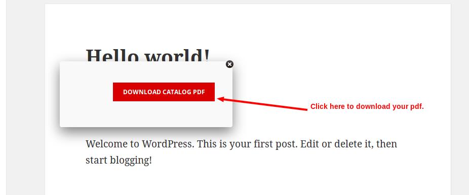 Woocommerce Product Catalog With PDF Catalog Export 12