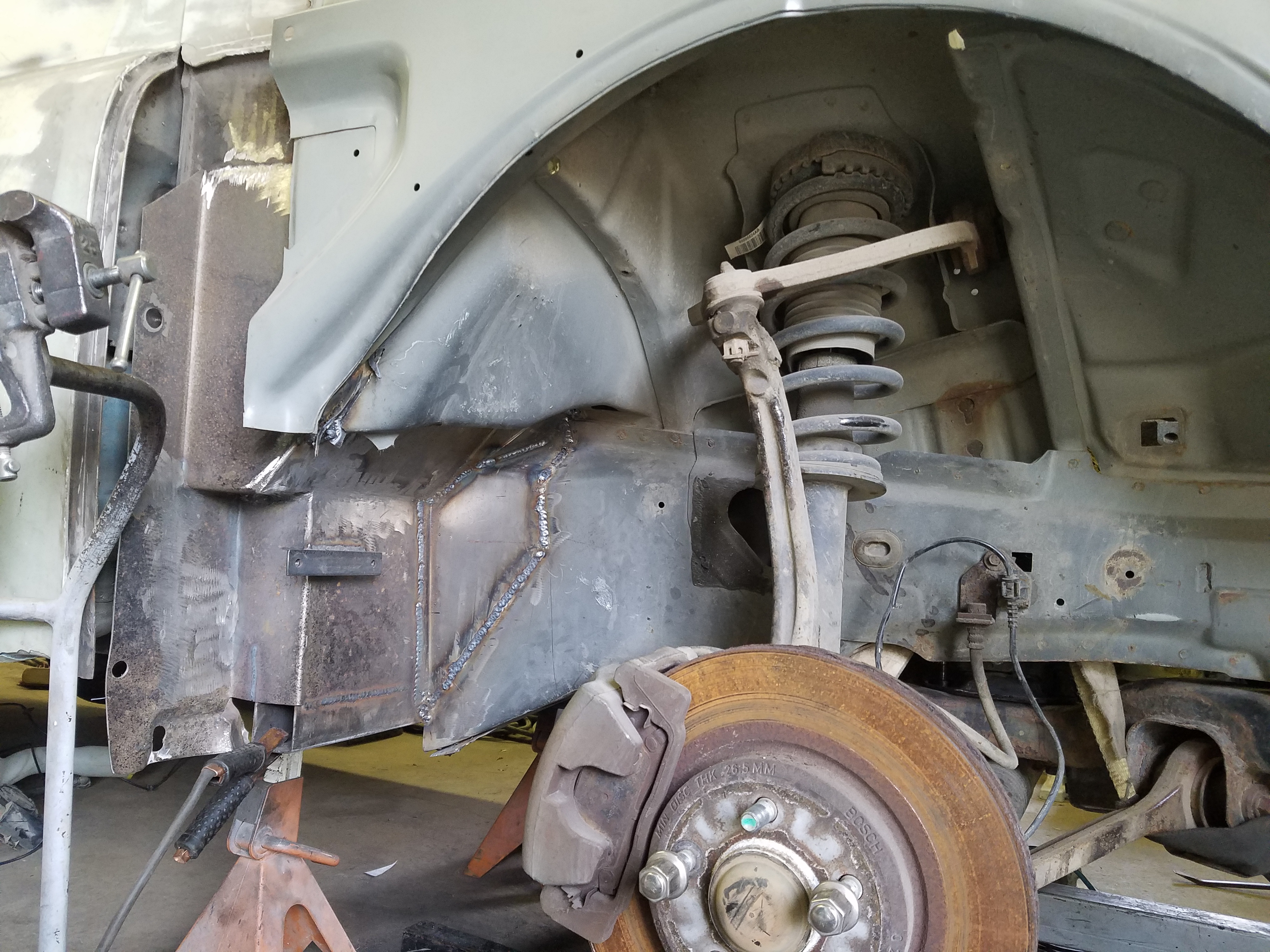 Build Thread 1950 Dodge Panel Van W 2006 Dodge Charger