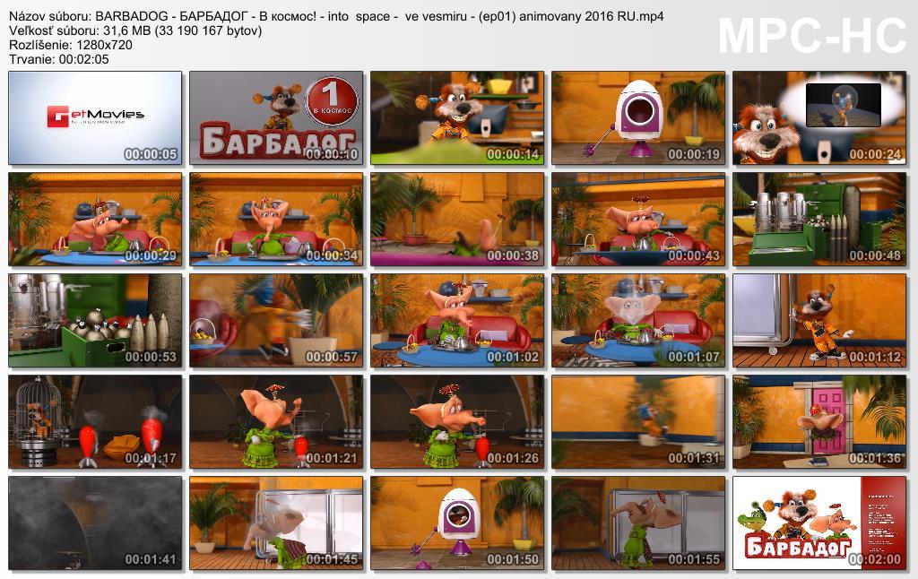 Barbapes / Barbadog /  Barbadozkiny  istorii (2015-2017)