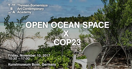 TBA21-Academy curates top level conference at the Bonn Art Museum for the protection of the oceans